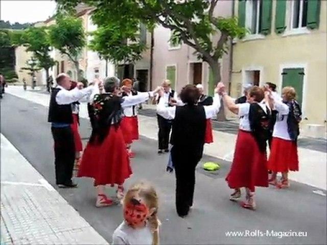Sol Y Fiesta 2011 Leucate - Une troupe des sardanistas