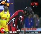 Chennai Rhinos vs. Telugu Warriors  Telugu Warriors Innings Over14
