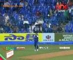 Mumbai Heroes vs. Karnatka Bulldozers - Mumbai Heroes Inning Ov17