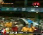 Mumbai Heroes vs. Karnatka Bulldozers - Mumbai Heroes Inning Ov18