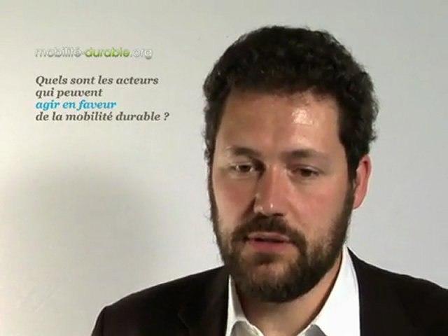 Interview pour mobilité durable (sous titré en français)