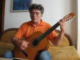 Jacques Petroff-Sarabande for Guitar-Francis Poulenc