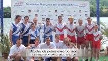 Championnat de France senior bateaux longs 2011 : Finales A HS4+, HS2+ et HSPL4-