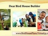Bird House Plans - Bird House Plans Exclusive Designs - blue bird house plans