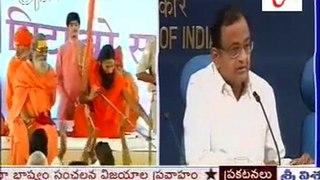 RSS behind Baba Ramdev Chidambaram