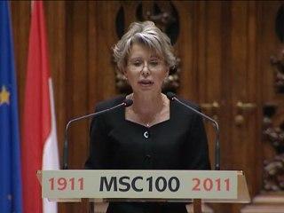 (Pl-3/6) Célébration du centenaire de l'attribution du prix Nobel de chimie à Marie Curie à la Sorbonne samedi 29 janvier 2011 Version polonaise 3/6