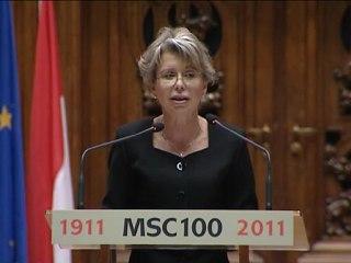 (Gb-3/6) Célébration du centenaire de l'attribution du prix Nobel de chimie à Marie Curie à la Sorbonne samedi 29 janvier 2011 Version anglaise 3/6