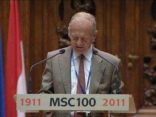 (Pl-1/6) Célébration du centenaire de l'attribution du prix Nobel de chimie à Marie Curie à la Sorbonne samedi 29 janvier 2011 Version polonaise 1/6