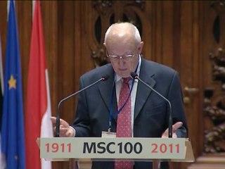 (Pl-2/6) Célébration du centenaire de l'attribution du prix Nobel de chimie à Marie Curie à la Sorbonne samedi 29 janvier 2011 Version polonaise 2/6