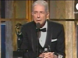 Léonard Cohen - Prix Prince des Asturies des Lettres 2011