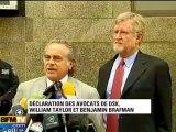 Les avocats de DSK attendent un procès équitable