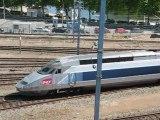 Nantes : arrivée train TGV gare SNCF