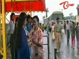 Ganesh Comedy With Girls In Bus Stop