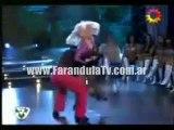 FarandulaTv.com.ar Baile de Wanda Nara ritmo Cha cha cha. Bailando 2011