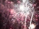 Feu d'artifice du Mondial du Vent 2011 à Leucate