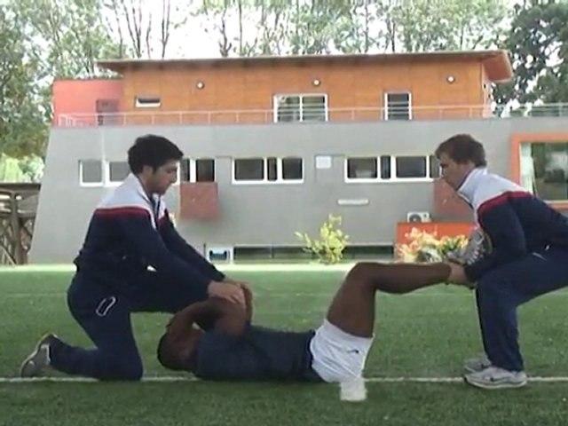 Exercices tronc et cou