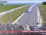 La SNCF et Alstom présentent le nouveau TGV Duplex à Reims