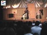 Un spectacle sur le tri et le recyclage offert par la Communauté d'agglomération Orléans Val de Loire aux écoles du territoire