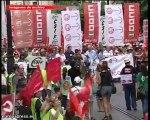 Andalucía pierde horas laborales por huelga