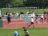 """Cyril MAGNOU - 400m haies (91cm) - 56""""56 - Interclubs 2011 1er tour"""