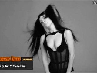 J.P. Gaultier donne une fessée à Lady Gaga