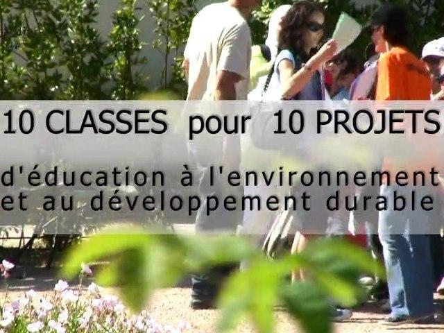 10 classes pour 10 projets EEDD