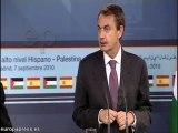 Zapatero recibe a primer ministro de Palestina