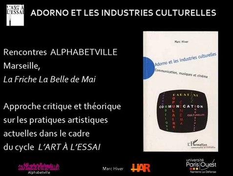 Adorno et les industries culturelles