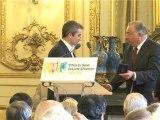 Le Sénat récompense les finalistes du Prix du Sénat du livre d'Histoire 2011