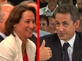 Royal huée mais défendue par... Sarkozy