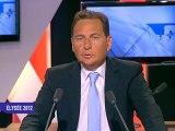 Présidentielle 2012 : Le quizz iTélé-Nouvelobs d'Eric Besson
