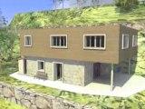 réhabilitation contemporaine en Corse, Architecture et architecte dplg Corsica Architect
