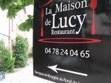 Film professionnel LA MAISON DE LUCY rue Bellecombe - Rhône, Lyon 06 (69) - Hôtellerie, Restaurants, Restauration - cuisine, décor, déjeuner, frais, groupes, hôtellerie, marche, produits, repas, restaurant, restaurants, restauration, salle, atypique