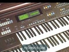 Technics Electric Organs UK Technics GA3 Technics EA5 Technics GN3