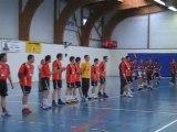 HBC Pays De Bröons - 2010-2011 - Match retour à Broons des barrages d'accesion à la Pré-nationale - Présentation des équipes