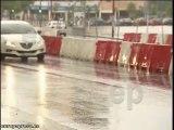 Fuertes lluvias en Sevilla