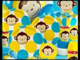 Go Bananas with a Mod Monkey Birthday Party