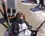Parapente Soaring à Bella-Lui, Montana-Crans - Valais - Suisse, avec Jojo Bunny, Le Lapin, Instructeur Suisse de vol Libre J. Alvarez