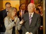 Moratinos no puede reprimir las lágrimas