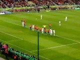 But de Vieira contre l'Espagne
