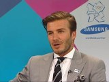 Beckham wants 'to be involved in the Olympics'
