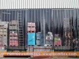 Rideaux à laniéres - Porte souple à lanières - Portes souples industrielles