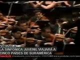 Sinfónica juvenil de Venezuela inicia gira en Suramérica