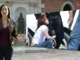 Robert Pattinson, Kristen Stewart y Taylor Lautner llegan al rodaje de Amanecer