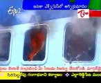 Heavy Fire Accident in Janata Express due to Short circuit