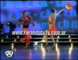 FarandulaTv.com.ar Daniel Gómez Rinaldi bailo el ritmo Cha cha cha en Bailando 2011