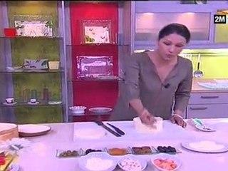 Choumicha - recette pain surprise maison facile
