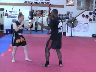 Muay Thai Techniques Demo