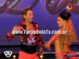 FarandulaTv.com.ar Rinaldi bailo el duelo en el ritmo Cha cha cha en Bailando 2011
