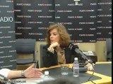 Soraya Sáenz de Santamaría en 'Punto Radio'